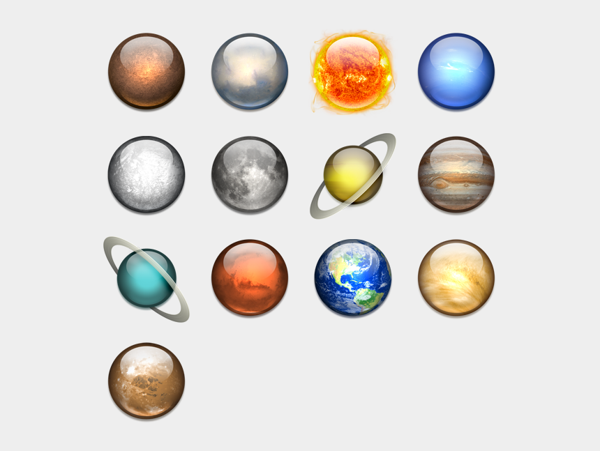 solar system clipart png, Cartoons - Solar System Icon Png - - Solar System Planets Png