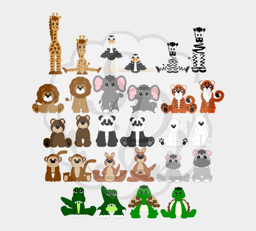 zoo animals clipart pdf, Cartoons - Clip Art