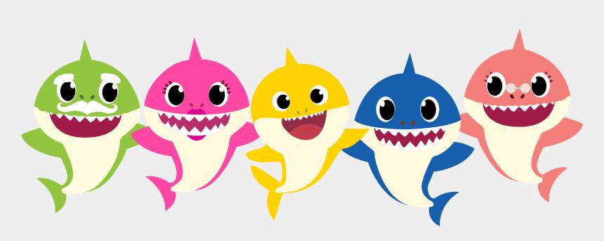 grandpa shark clipart, Cartoons - Familly Shark Png, Família Tubarão, Familia De Tiburones, - Desenho Do Baby Shark Em Png