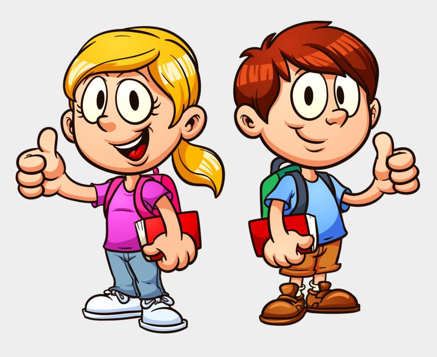 sad kid clipart, Cartoons - Png Clip Art - Student Thumbs Up Clipart