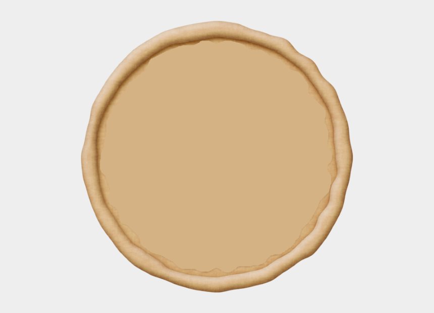 slice of pie clipart, Cartoons - Round 16″ 8-slices - Pizza Dough Clipart Png