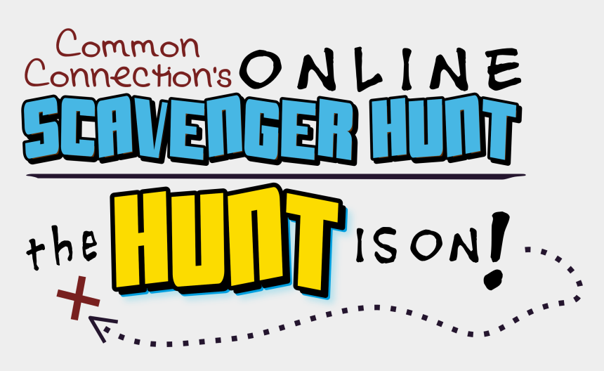 scavenger hunt clipart, Cartoons - Common Connection's Online Scavenger Hunt
