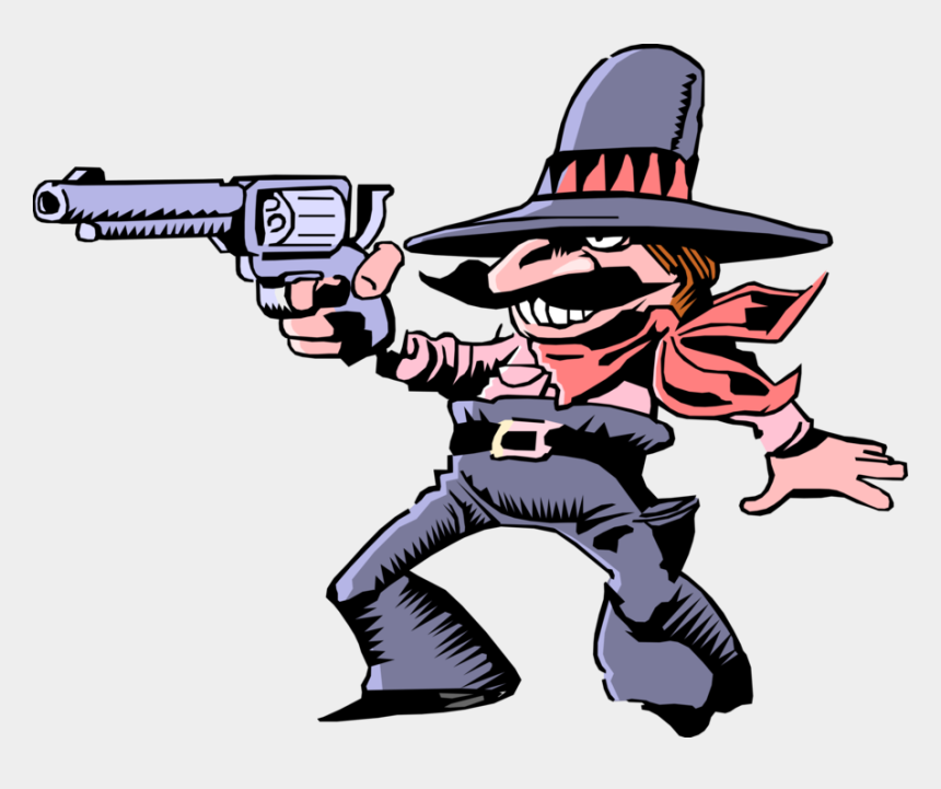 stereotype clipart, Cartoons - Vector Illustration Of Mexican Hombre Bandito Stereotype - Gambar Koboy