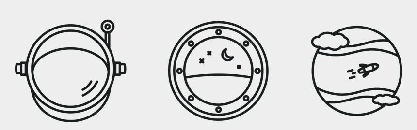 astronaut helmet clipart, Cartoons - Astronaut's Helmet - Circle