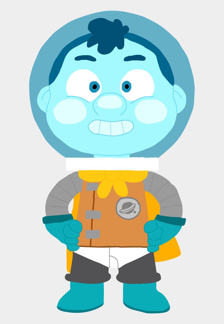 astronaut helmet clipart, Cartoons - With Helmet - Camp Camp Space Kid