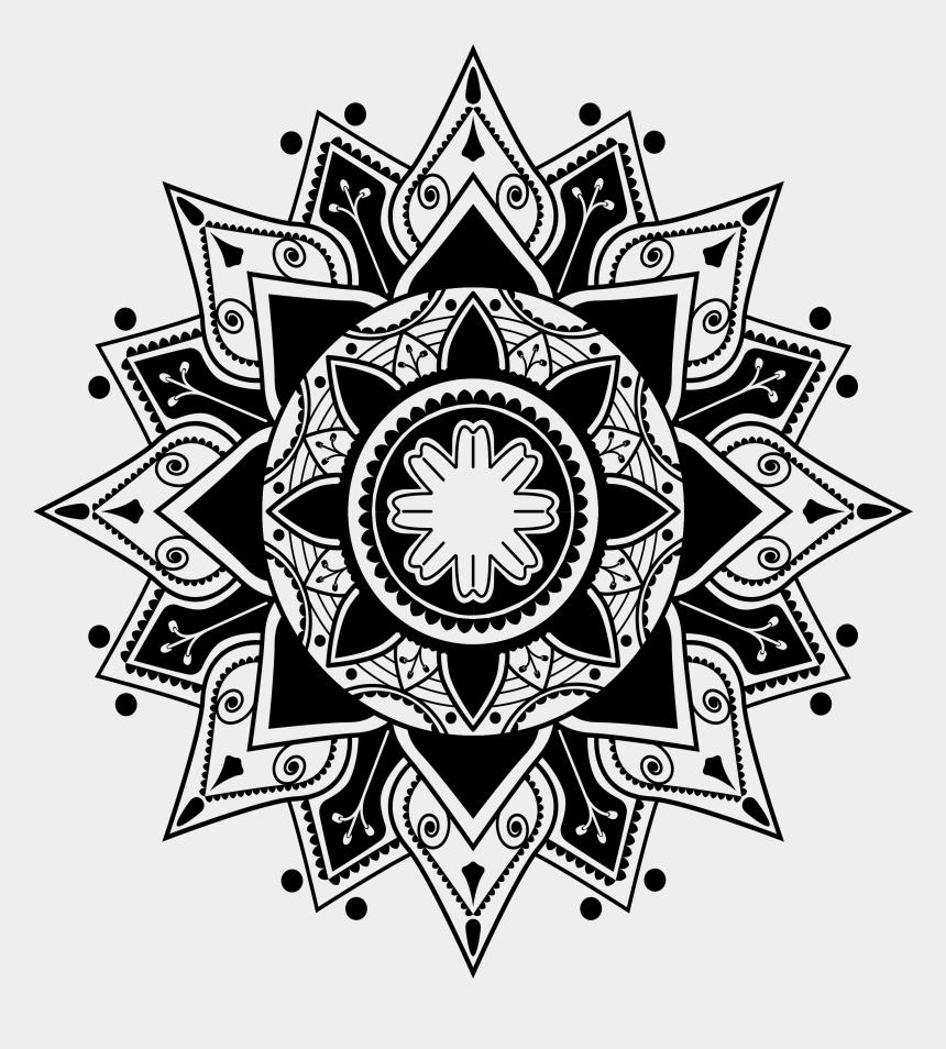 mandala tattoo clipart, Cartoons - Mandala Tattoo Png