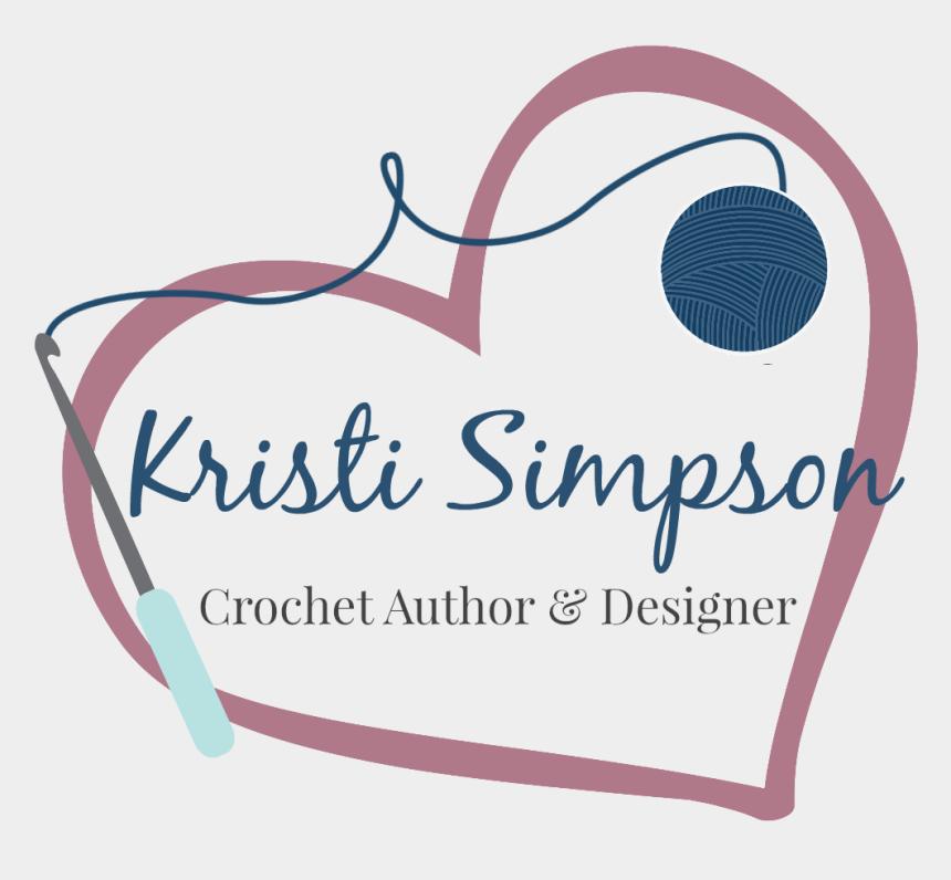 crochet heart clipart, Cartoons - Crochet Clipart Crochet Heart - Graphic Design