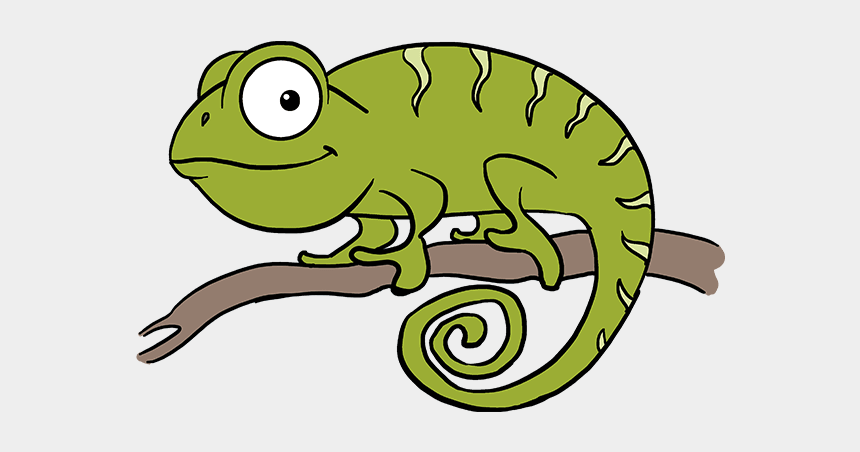 draw a chameleon clipart, Cartoons - How To Draw Chameleon - Chameleon Drawing Easy