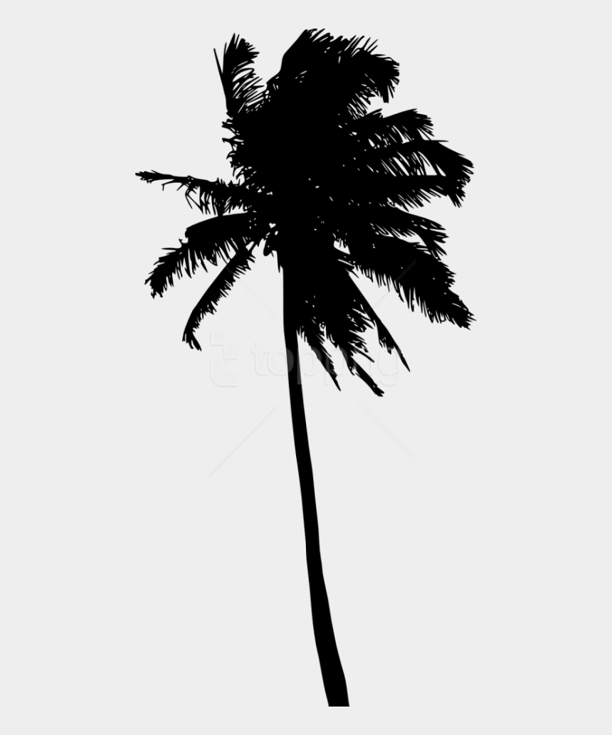 palm tree and beach chair clipart, Cartoons - Free Png Palm Tree Silhouette Png - Trees Silhouette Png