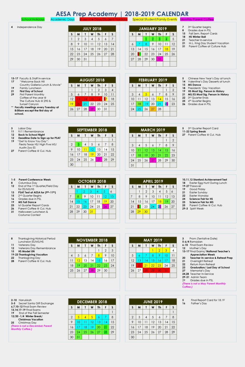 passover 2018 clipart, Cartoons - Aesa School Calendar - Dekalb County School Calendar 2018 2019