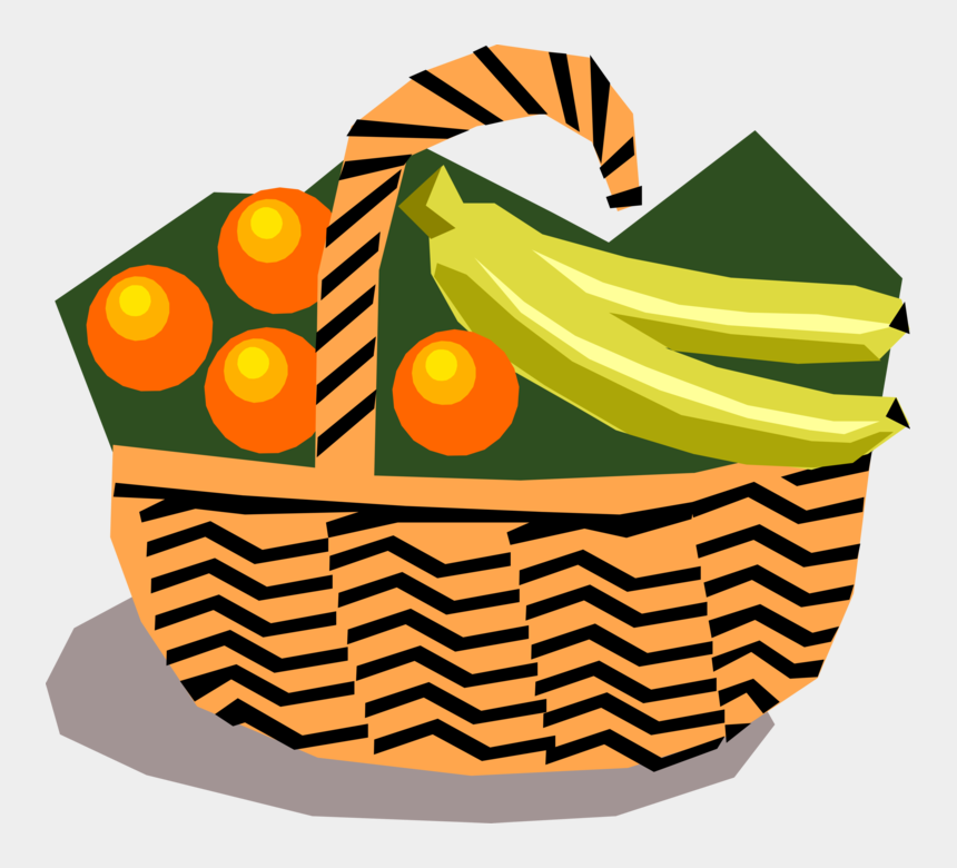 oranges in basket clipart, Cartoons - Clip Art Vetores Cesta De Frutas Png