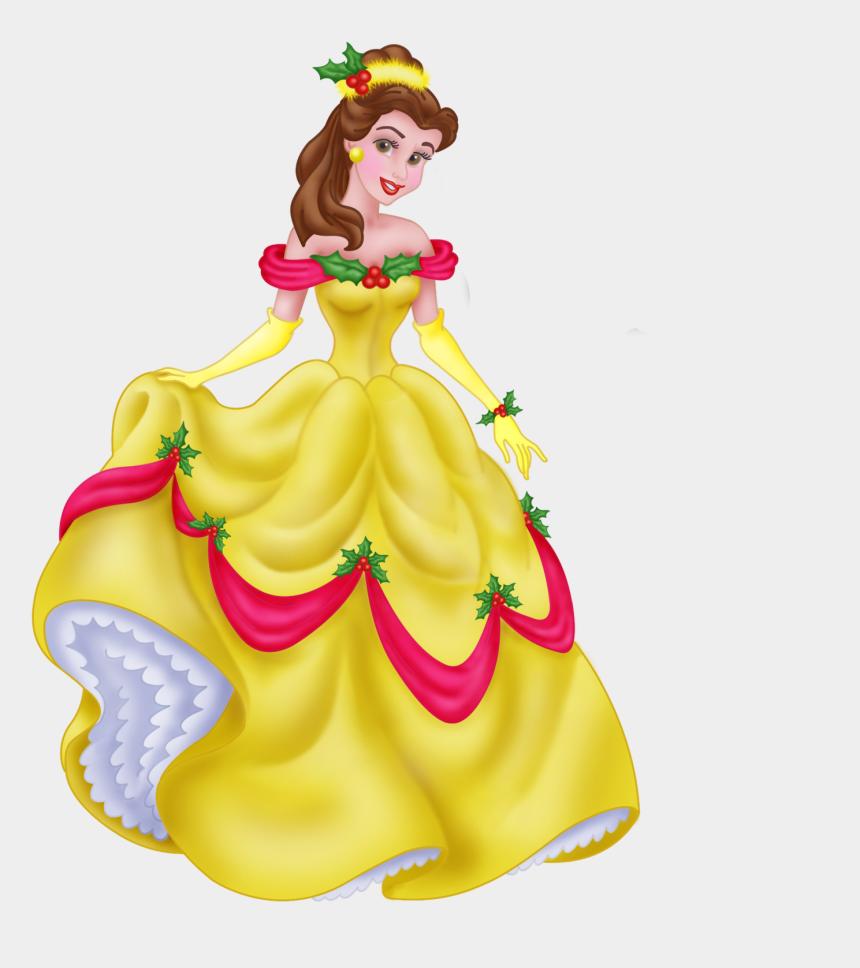belle clipart png, Cartoons - Belle Cinderella Rapunzel Minnie Mouse Clip Art - Disney Princess Belle Christmas