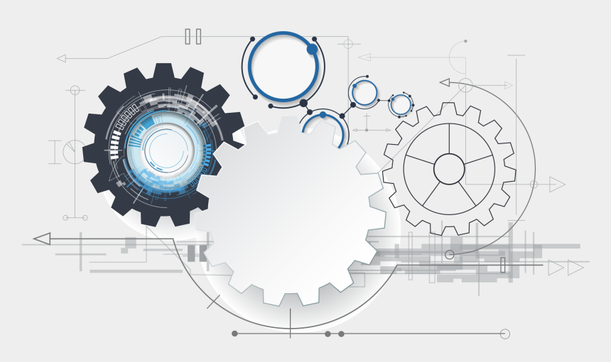 gears clipart science, Cartoons - And Science Poster Robot Artificial Vector Intelligence - 15 September Engg Day