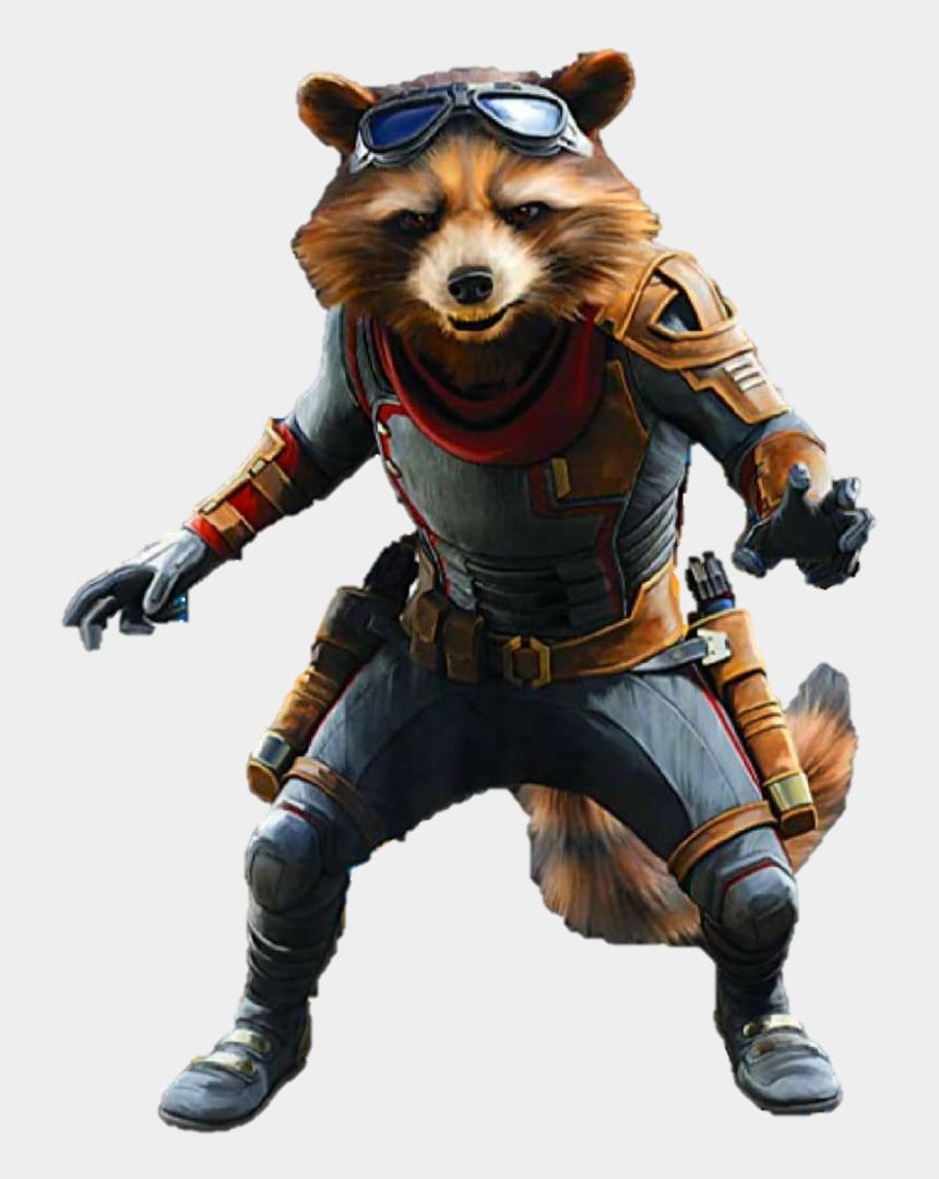 rocket guardians of the galaxy clip art, Cartoons - Guardians Of The Galaxy Rocket Raccoon Transparent - Rocket Raccoon Avengers Endgame