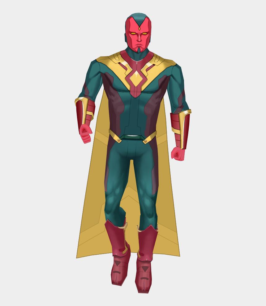 avengers vision clipart, Cartoons - Marvel Vision Transparent Images - Vision Avengers Png Image Hd