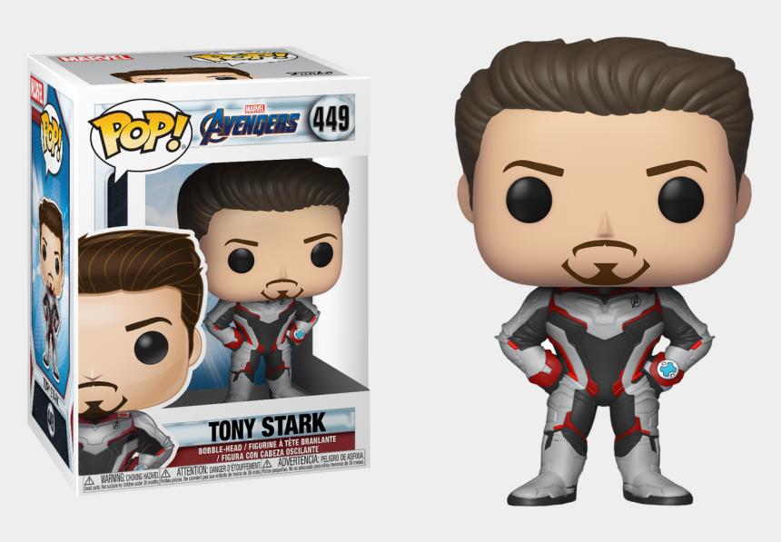 avengers endgame clipart, Cartoons - Tony Stark In Team Suit Pop Vinyl Figure - Iron Man Funko Pop Endgame