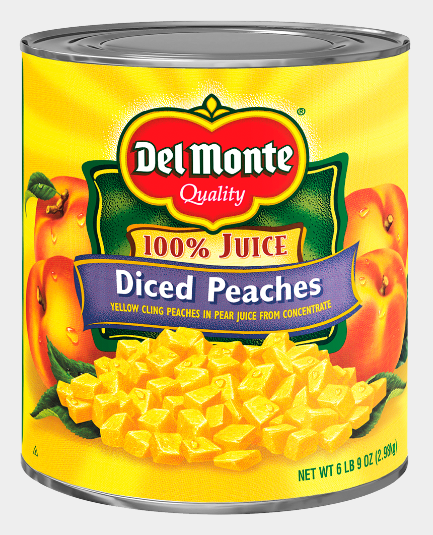 clipart of georgia peaches, Cartoons - Del Monte® Diced Yellow Cling Peaches In Pear Juice - Del Monte Lite Mixed Fruit 106 Oz