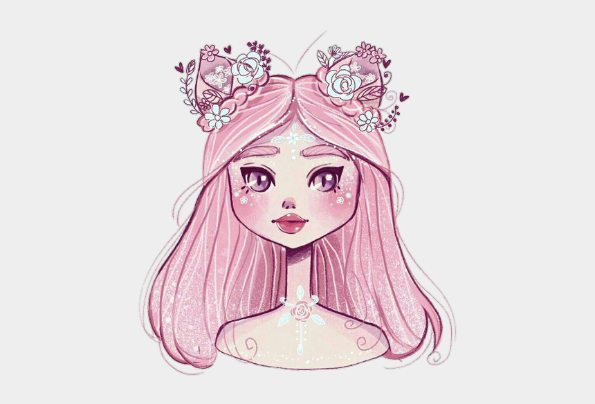 free clipart images face painting, Cartoons - Drawing Illustration Art Sketch Pink - Drawing Magic Girl