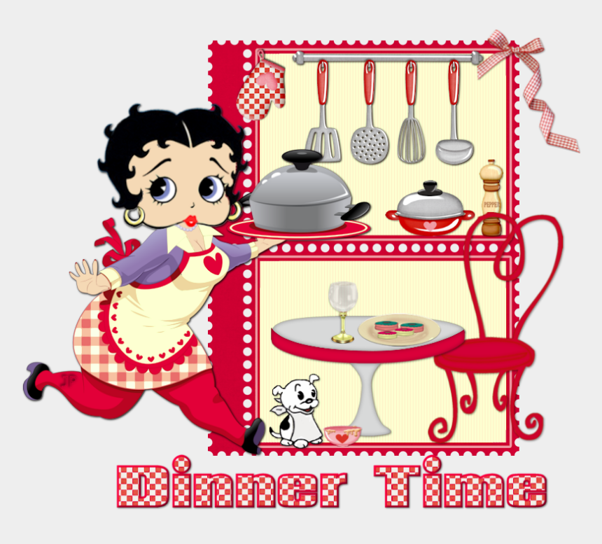 gambar betty boop clipart, Cartoons - Cooking With The Crazy Lady Authors Book
