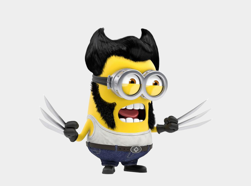 wolverine clipart images, Cartoons - Wolverine Minions Drawing Clip Art - Wolverine Minion