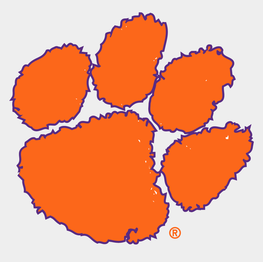 lsu tiger paw clipart, Cartoons - Official Ncaa Clemson Tigers - Clemson Tigers