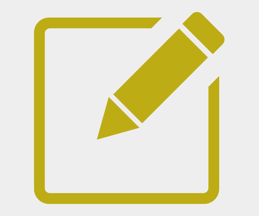 employee engagement survey clipart, Cartoons - Pencil Edit Icon Png
