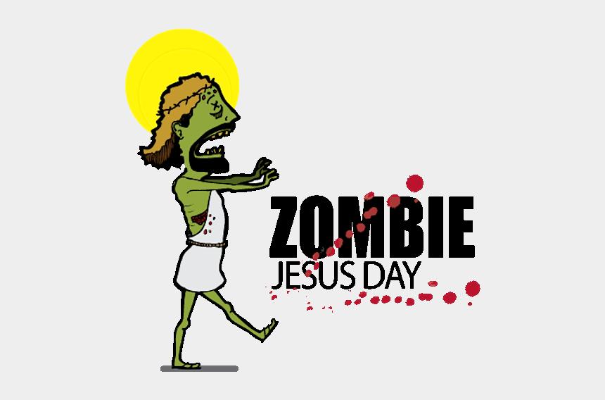 zombie clipart gif, Cartoons - Zombie Jesus Day