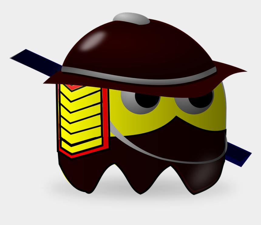 pac man cartoon clipart, Cartoons - Samurai, Baddie, Pacman, Pac-man, Cartoon - Pacman Samurai