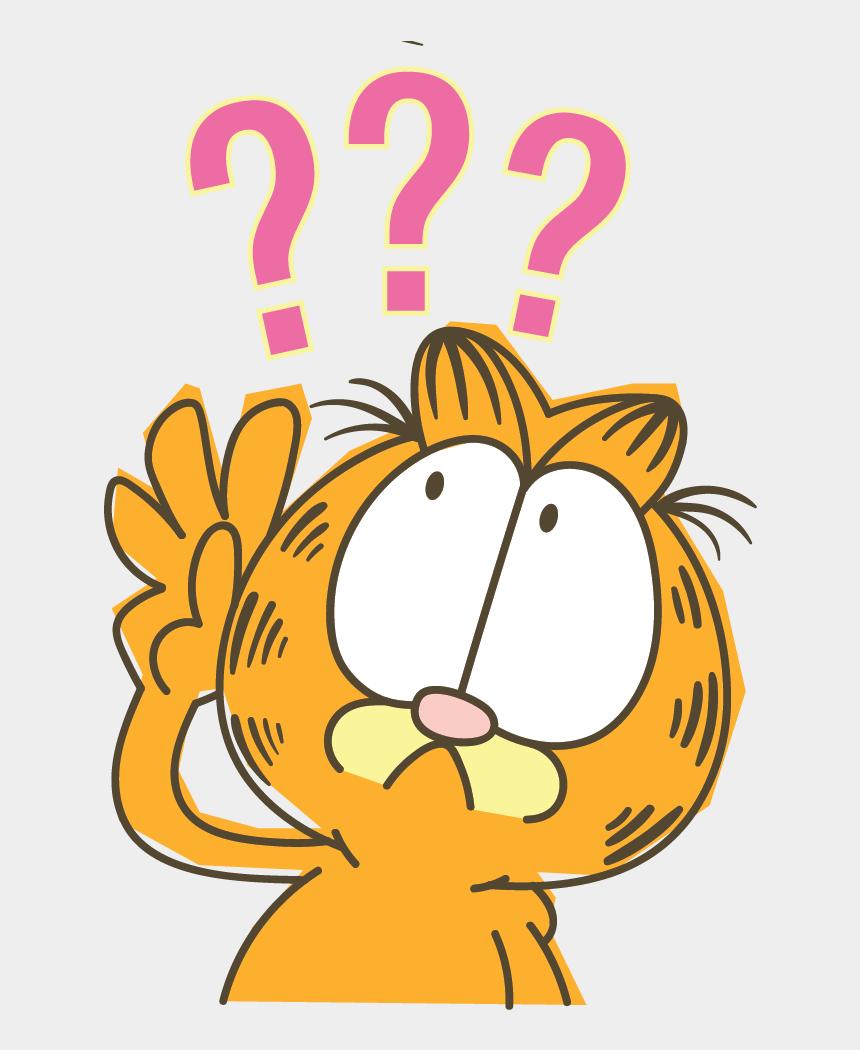 garfield birthday clipart, Cartoons - Garfield Stickers Bare Tree - Stiker Line Png