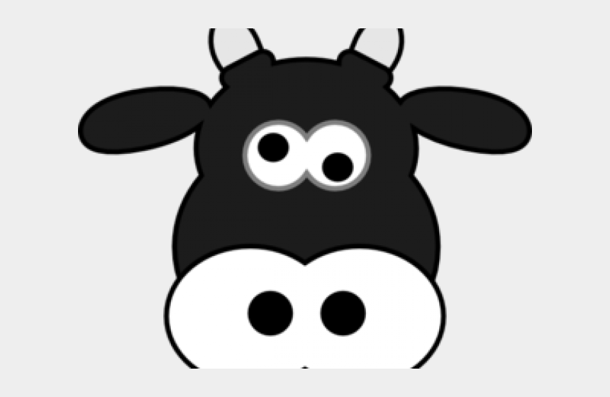 cartoon cow face clipart, Cartoons - Cartoon Cow Face - Ask Me About My Moo Cow Svg