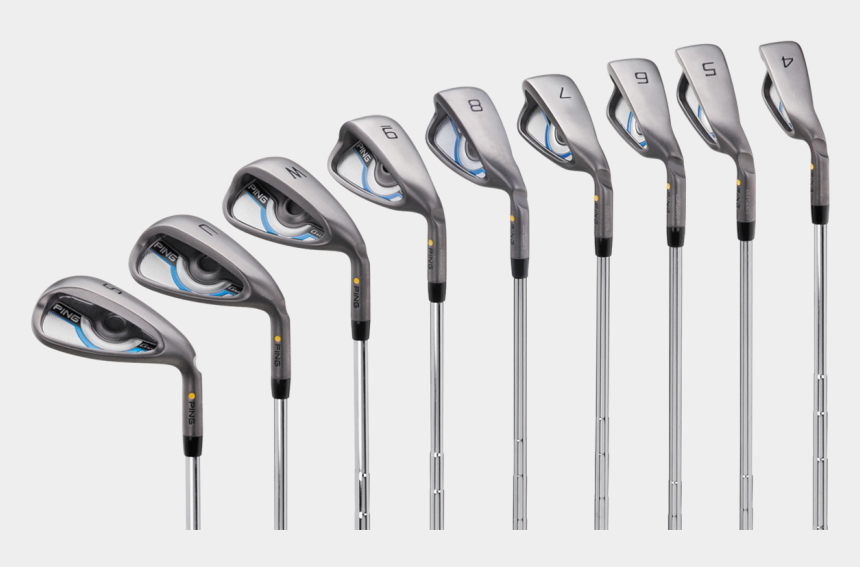 golf clubs clipart black and white, Cartoons - Cartoon Golf Clubs Png - Ping Gmax Irons