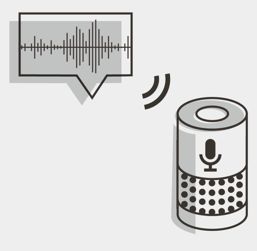 internet of things clipart, Cartoons - Voice Speaker - Internet Of Things Voice