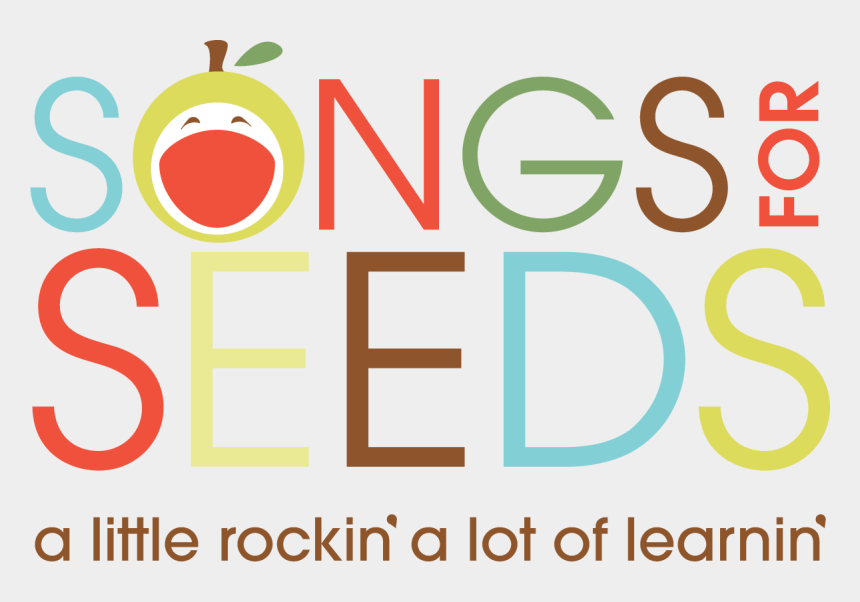 happy monday clipart images, Cartoons - Songs For Seeds Logo Clipart , Png Download - Kids Music