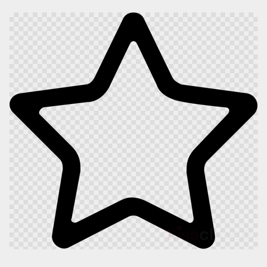 beatitudes clipart, Cartoons - White Line Transparent Background - Transparent Background Star Icon Png