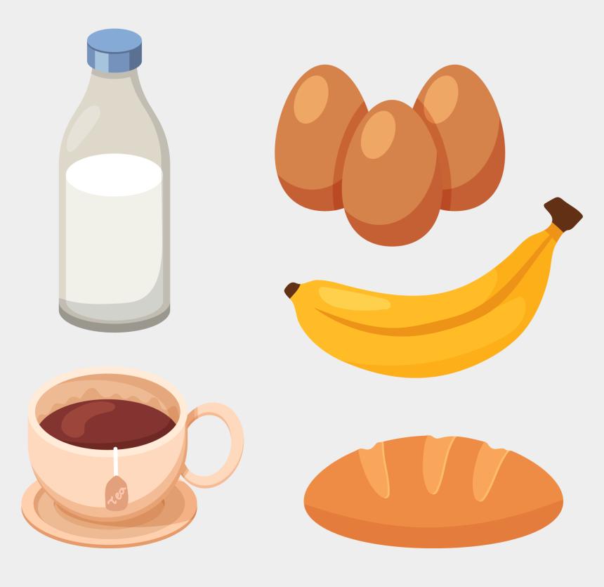 desayuno clipart, Cartoons - Drink Milk Clip Art - Healthy Food Egg Milk Clipart Circle