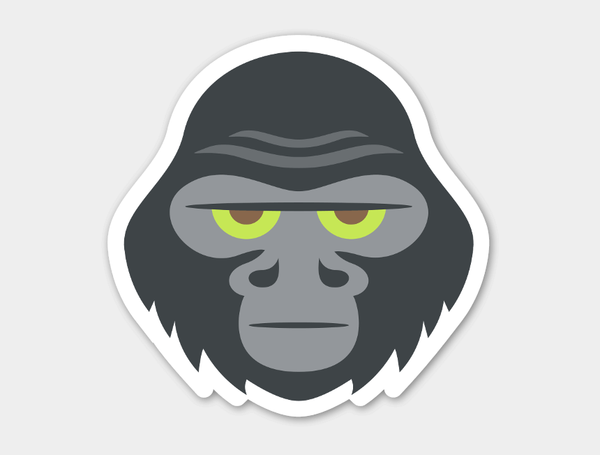 angry gorilla clipart, Cartoons - Gorilla Png - Gorilla Sticker - Gorilla Emoji - Gorilla Emojis