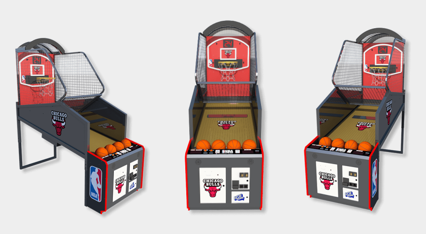 arcade machine clipart, Cartoons - Nba Gametime Basketball Arcade - Basketball Finger Arcade Game