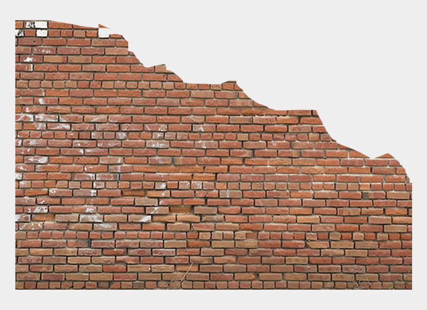 brick wall background clipart, Cartoons - Go To Image - Brick Wall Broken Png