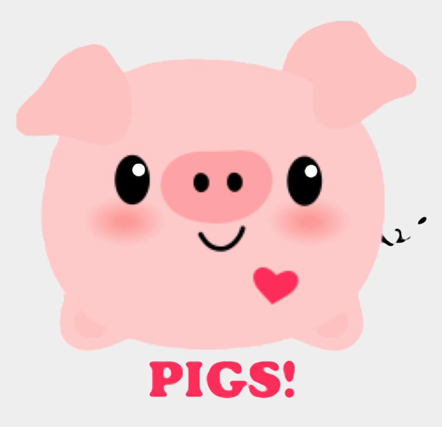 pig in mud clipart, Cartoons - #pig #pink #cute #kawaii #heart #mud #dirty #pork - Cerditos De Dibujos Animados