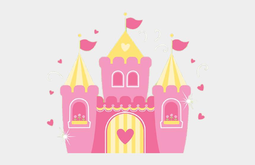 princess poppy clipart, Cartoons - Princess Castle Clipart - Disney Princess Castle Pink