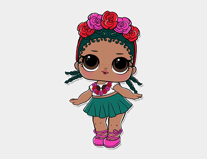 lol doll birthday clipart, Cartoons - Lol Dolls Coconut Qt