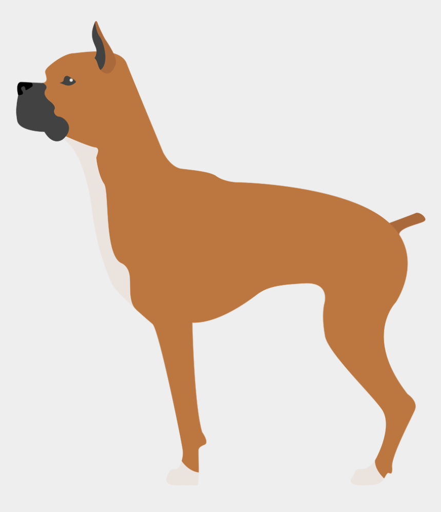 boxer dog head clipart free, Cartoons - Dog Clipart , Png Download - Ancient Dog Breeds