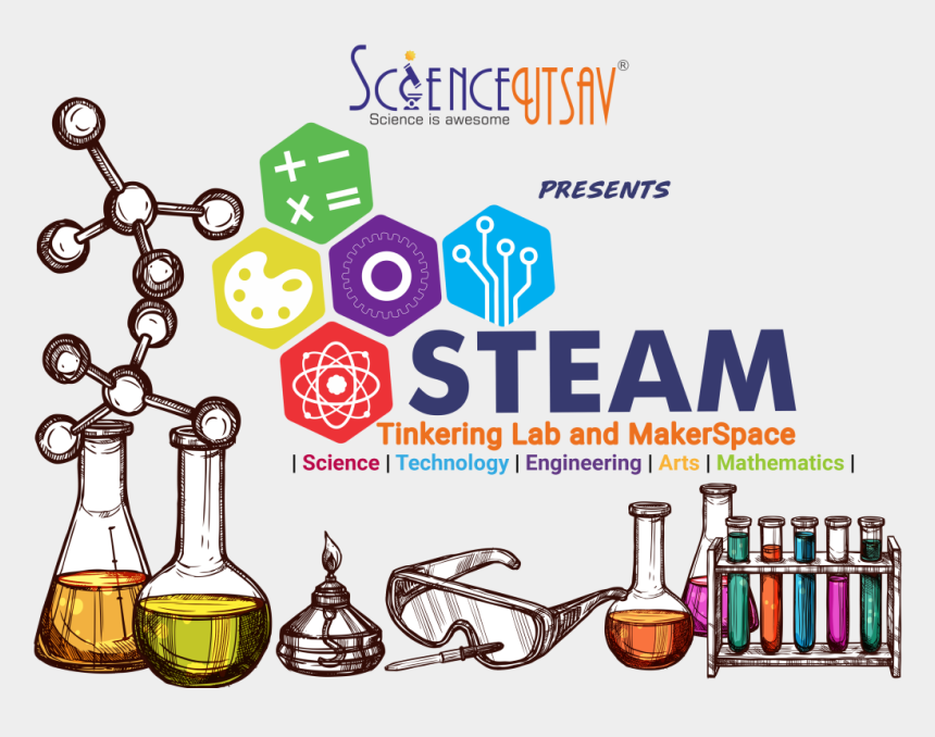 science lab bottle clipart, Cartoons - Summer Camps 2019 In Faridabad
