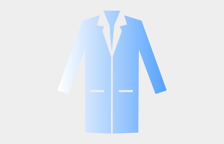 blue lab coat clipart, Cartoons - Formal Wear