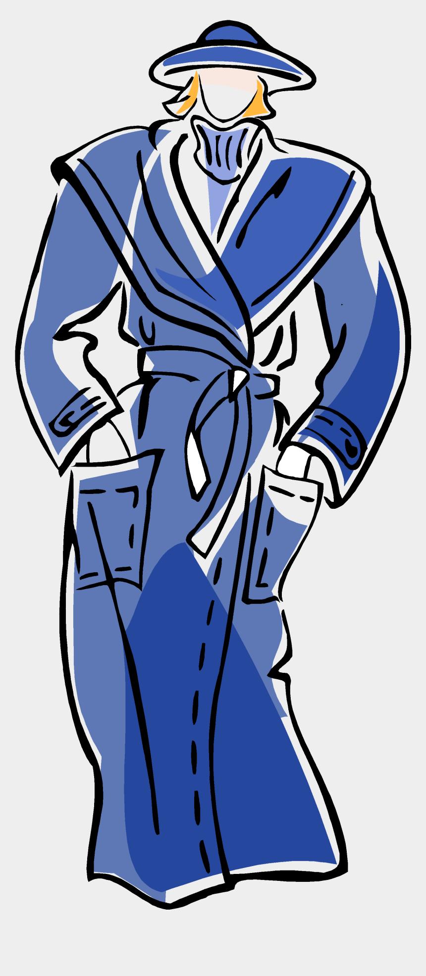blue lab coat clipart, Cartoons - Coat Clipart , Png Download