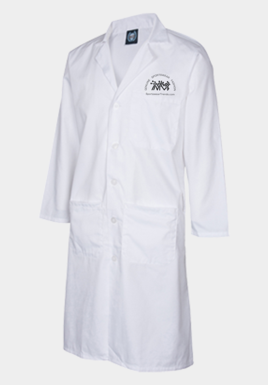 nurse lab coat clipart, Cartoons - Custom Embroidered Inch Long - White Coat
