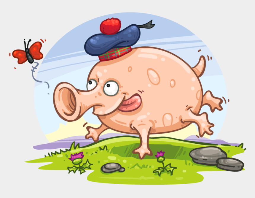 www cartoon clipart com, Cartoons - Cartoon Clipart , Png Download - Cartoon Of Haggis Animal