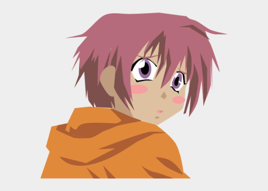 anime boy clipart, Cartoons - Cartoon