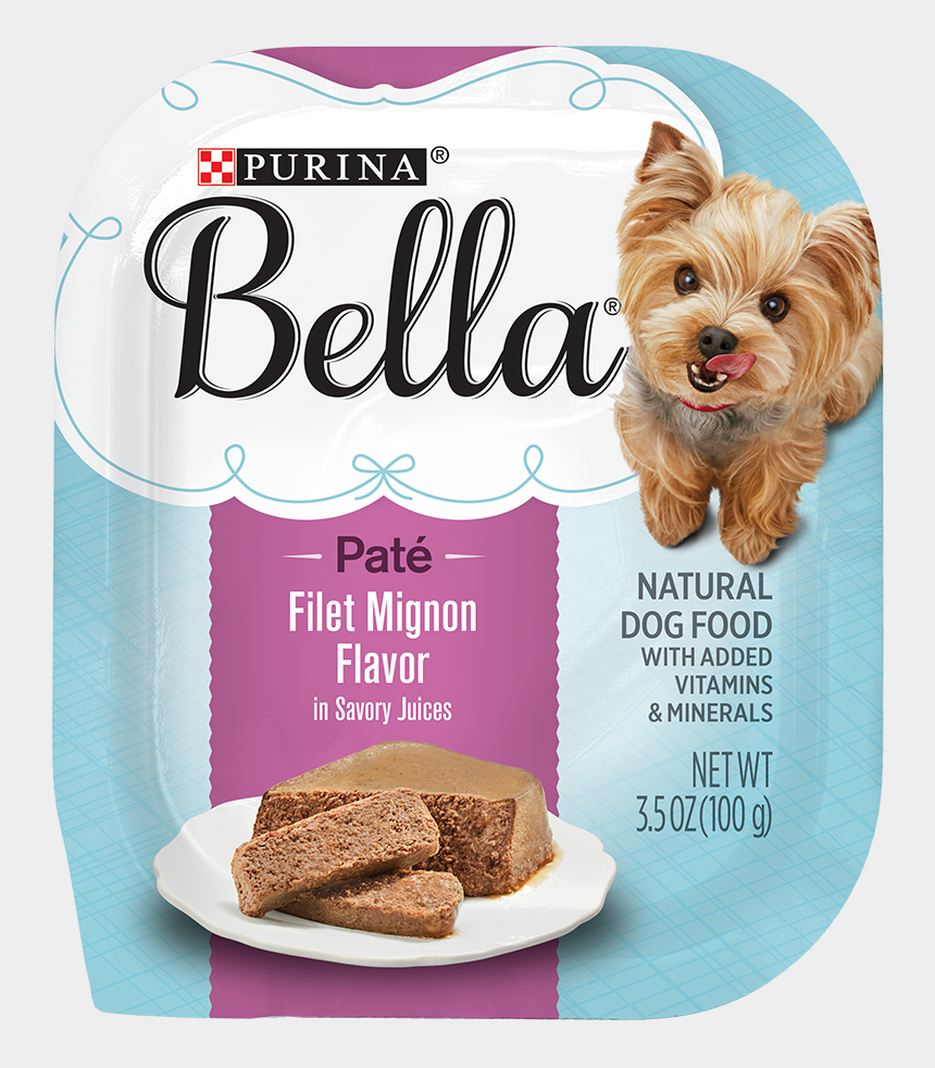 clipart picture of dog bowl, Cartoons - Purina Bella Wet Dog Food