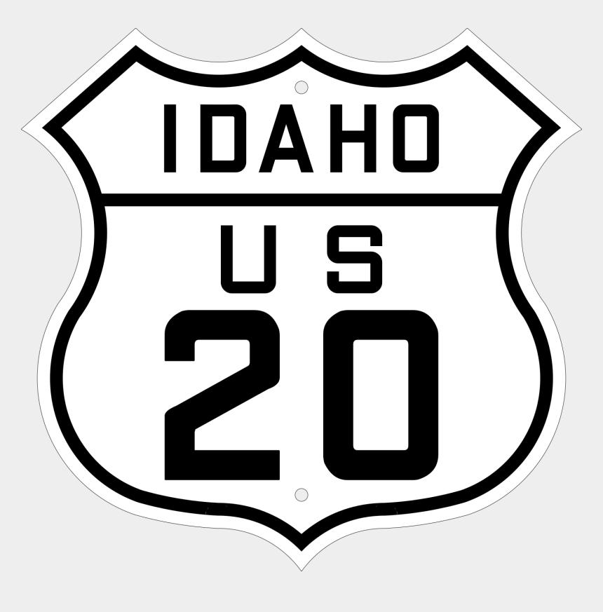 Route 66 Logo clipart - Sign, Road, White, transparent clip art